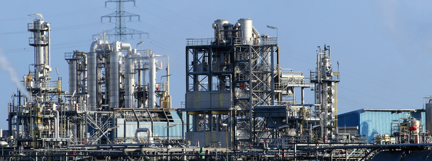 a chemical and petrochemical refining where adsorbents, catalysts and process chemicals are being used like adsorbents, catalysts and dessicants for the purification of oil, gas and air.